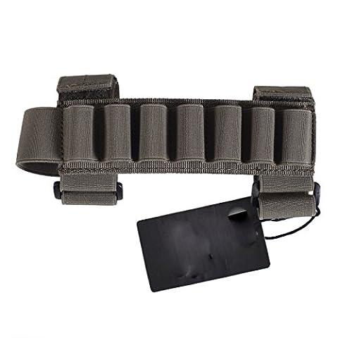 Oper8 Shotgun shell holder for stocks - Olive