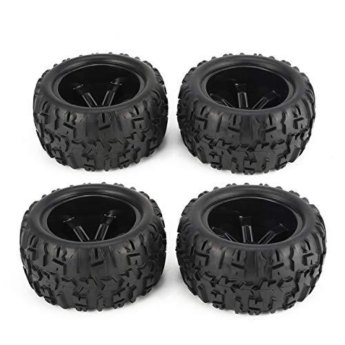 Rad, 4Pcs 150mm Felge und Reifen für 1/8 Monster Truck Traxxas HSP HPI E-MAXX Savage Flux Racing RC-Autozubehör