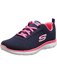 Skechers Flex Appeal 2.0-Break Free, Damen Outdoor Fitnessschuhe,
