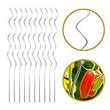 INDUTEC Tomatenspiralstab Tomantenstab Spiralstab Rankstab - Ø 6,8 mm x H: 150 cm (10 Stück)