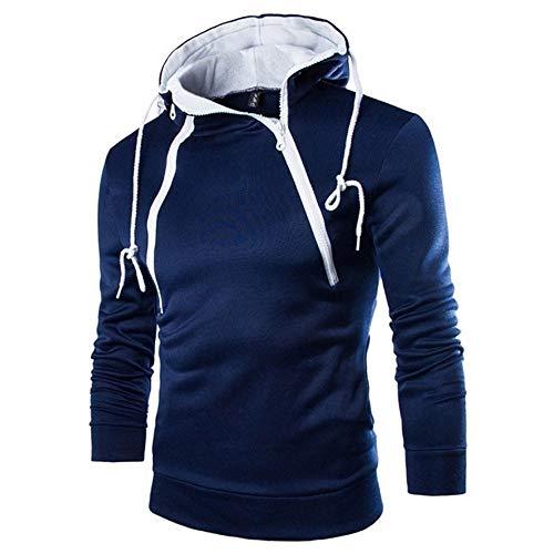Bazhahei uomo top,felpa con cappuccio di tinta unita uomo,felpe sportive con cappuccio felpe con cappuccio invernale con sweatshirt invernale con cappuccio hoodies men jumper hooded t-shirt uomo