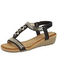 Grafters–Zapatos de piel), color negro Ancho de Seguridad Calzado de trabajo Tamaño 6–13m9504a, color Negro, talla 45 EU