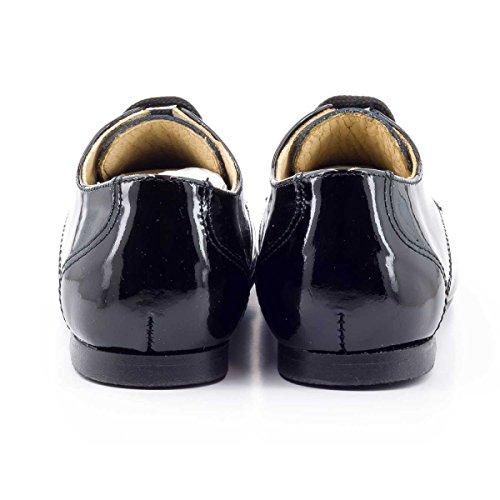 Boni Mini-Philippe - chaussures bébé garçon Vernis Noir
