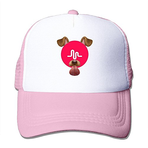 a6fa37a499e3b Hittings MKCOOK Unisex Musically Fan Classic Mesh Back Trucker Caps Hats  Pink