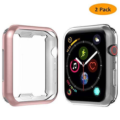 Anjoo [2 Set] Compatible Funda Apple Watch 40mm, Suave