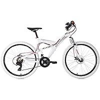 KS Cycling Topspin Vtt Tout Suspendu Mixte Adulte, Blanc