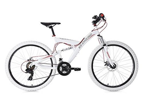 KS Cycling Erwachsene Mountainbike MTB Fully 26