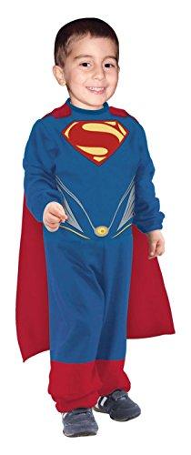 l Tiny Tikes Jumpsuit Costume Fancy Dress for Kids (Superman Kostüm Für Kleinkinder)