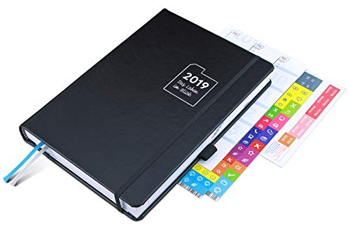 weekview A5 Timer Classic – Der innovative Wochenplaner | Effektives Zeitmanagement mit 52 Coaching-Lektionen nach biblischen Prinzipien!