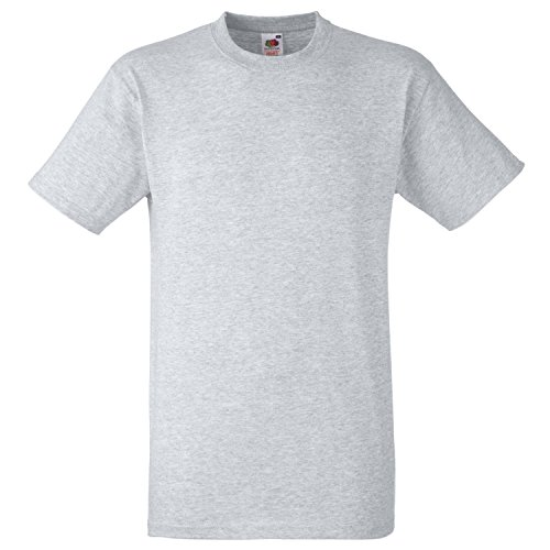 Fruite of the Loom Heavy T-Shirt, vers.Farben Graumeliert