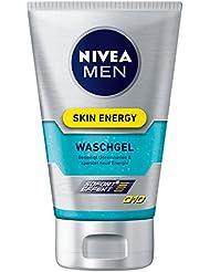 Nivea Men Skin Energy Waschgel Q10, 2er Pack (2 x 100 ml)