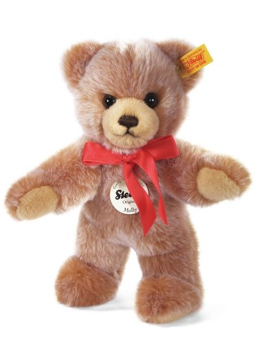 Steiff-24cm-Molly-Teddy-Bear-Light-Brown-Tipped
