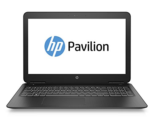 HP Pavilion 15-bc400ns - Ordenador Portátil 15.6' FullHD (Intel Core i5-8250U, 8 GB RAM, 1 TB HDD, Nvidia GeForce GTX 1050, FreeDos), Color Negro - Teclado QWERTY Español