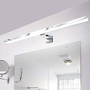 Croled led spiegelleuchte badlampe 8w beleuchtung - Amazon spiegelschrank ...