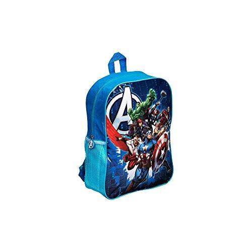Imagen de niños   bolsa de cabina para los niños/niños–junior  para escuela/guardería/viajes bratz, tortugas, frozen, de los vengadores, iron man, capitán américa multicolor avengers blue