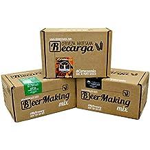 Pack 3 recargas de materias primas para elaborar cerveza en casa. #Cervezanía IPA,