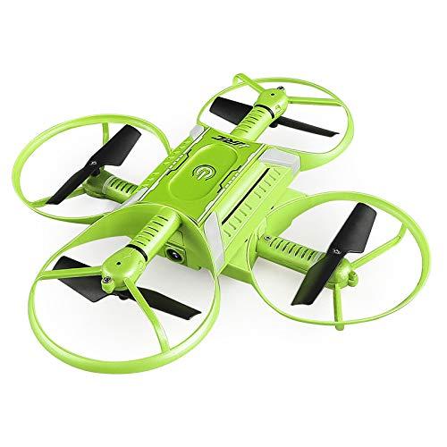 Zantec mini rc drone pieghevole quadcopter 720p hd telecamera con funzione di bellezza wifi fpv induzione di gravità telecomandato, verde