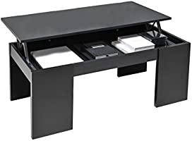 Weber Industries 026216 Contemporain Newton Table Basse Noir 100,5 x 43,5 x 50 cm