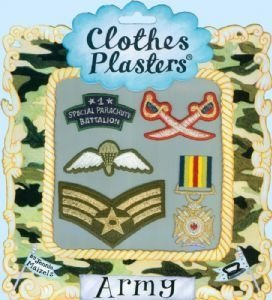 Armee Kinderaufnäher Packung (gelten mit bügeleisen)