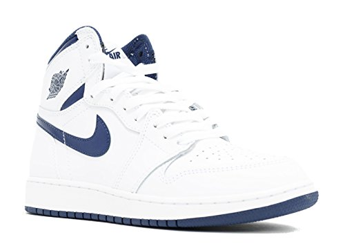 Nike - Air Jordan I Retro High OG BG - 575441106 - Couleur: Blanc - Pointure: 38.0