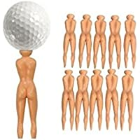dersoning 10 Stück Nude Ladies Golf Tees Nägel Beauty-Golf -