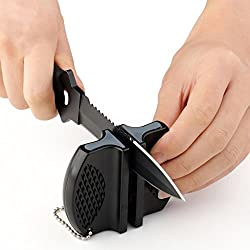 Couteau de cuisine et aiguiseur de ciseaux de Ruichy