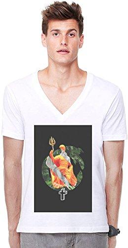 A_cross_the_jungle Deep V-neck T-shirt Small