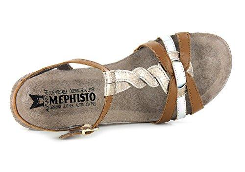 MEPHISTO MANDY SANDALI DONNA CLASSICI Hazelnut