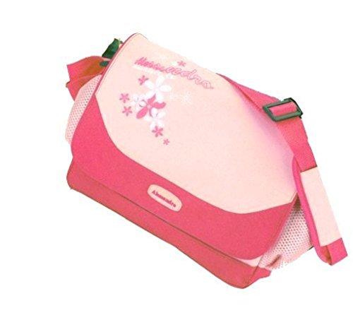 Umhängetasche 1898 pink Fresh Summer mit RV-Hauptfach ca 30,0 x 23,0 x 10,0 cm hellgrün/orange