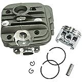 jrl 44mm cilindro pistón Segments pines Set para motosierra Stihl 026MS260sustituir 11210201208026
