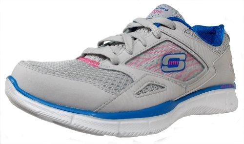Skechers Equalize 11890 Damen Sneaker Light Gray/Blue