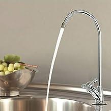 Aissimio acqua potabile filtro rubinetto, lavello da cucina in acciaio INOX touch On purificatore rubinetto, adatto a tutti i sistemi di filtraggio acqua potabile e sistemi ad osmosi inversa