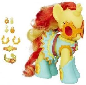 Mon Petit Poney My Little Pony - Sunset Shimmer Shimmer Shimmer : beauté et Accessoire 15 cm Jaune | Des Styles Différents  1ad7a9