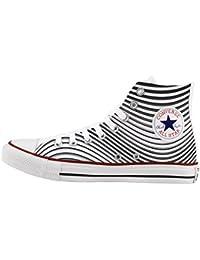 converse all star personnalis et imprims chaussures la main optical