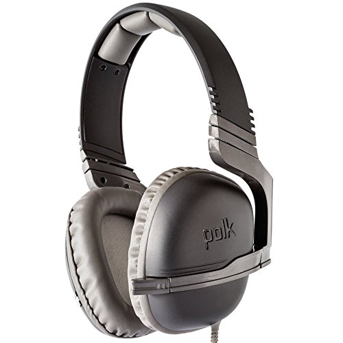 Polk Audio STRIKER P1 Multi Gaming-Headset (für PS4, Wii-U, PC, etc.) Schwarz