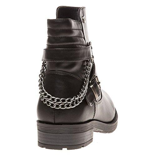 Xti 73916 Femme Boots Noir Noir
