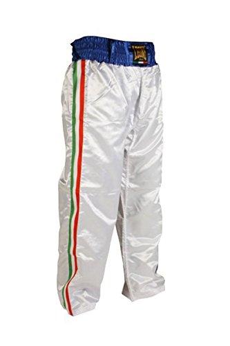 Pantalone Leone Kick Italy AB757 Bianco (M)