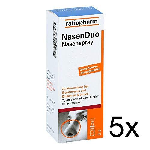 Nasenduo Nasenspray 5 x 10 ml Sparset inklusive einer Handcreme von vitenda.de