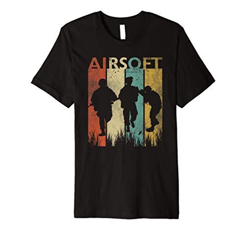Airsoft Spieler T-Shirt I Team Verein Mannschaft Sportart