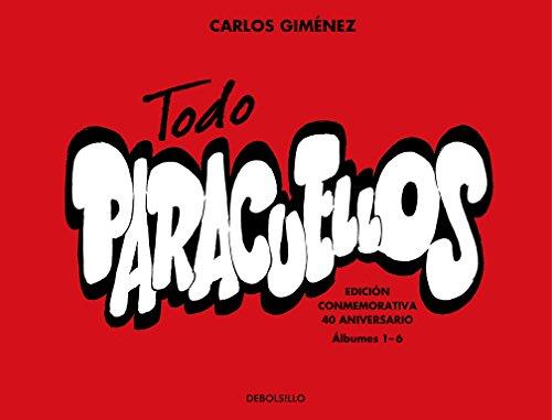 Todo Paracuellos: Edición conmemorativa 40 aniversario (Álbumes 1-6) (BESTSELLER-COMIC) por Carlos Giménez