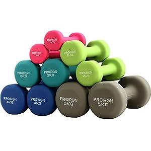PROIRON Neopren Hantel Gewichte Home Fitness (Box in EIN Paar)