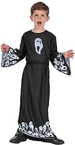Ciao - Disfraz infantil unisex Fantasma Scream Ghost, 5-7 años, negro, 13047.5-7