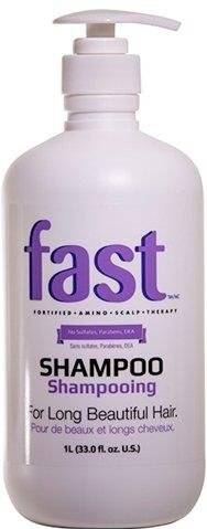 Nisim FAST Shampoo Litre Hair Growth Accelerating Sulfates Parabens FREE