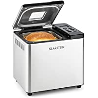 Klarstein Krümelmonster Panificadora (550W de potencia, capacidad de 750 g pan, diseño compacto