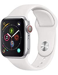 Apple Watch Series 4 smartwatch Argento OLED Cellulare GPS (satellitare)