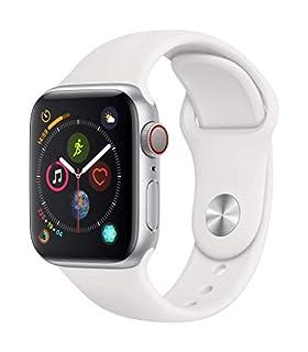 AppleWatch Series4 (GPS + Cellular) Boîtier en Aluminium Argent de 40mm avec BraceletSport Blanc (B07JVKY7J4)   Amazon price tracker / tracking, Amazon price history charts, Amazon price watches, Amazon price drop alerts