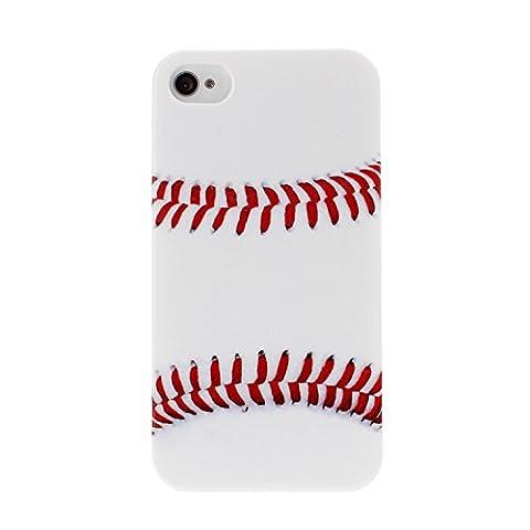 Wkae Case Cover IPhone 4S de couverture de cas, couverture