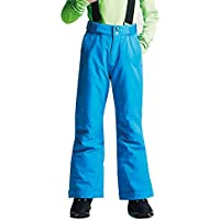 Dare 2b Take On Waterproof and Breathable Insulated Kids Ski Pants Pantalones de Esquí, Infantil, Fluro Blue, Talla 3-4