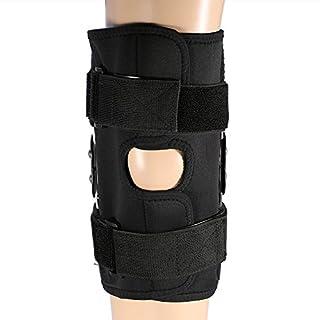 Aramox Kniestütze, Kniestütze mit Verstellbarer Umschnallung Atmungsaktive Neoprenhülle für Arthritis, ACL, Laufen, Basketball und mehr Sport
