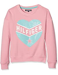 Tommy Hilfiger M Cn Hwk L/S, Sweat-Shirt Fille